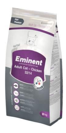 Сухой корм для кошек Eminent Adult Cat, курица, 2кг