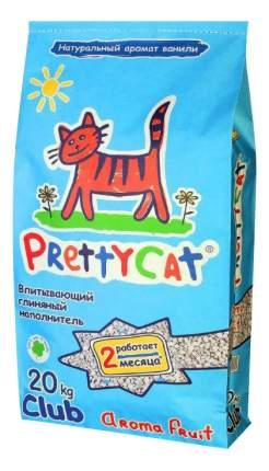 Впитывающий наполнитель для кошек PrettyCat Aroma Fruit глиняный, 20 кг