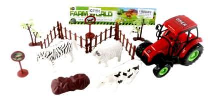 Трактор С-Трейд с животными