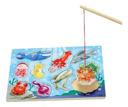 Игровой набор Melissa & Doug Магнитные игры Рыбалка