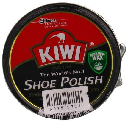 Крем для обуви Kiwi shoe polish черный