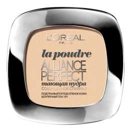 Пудра L`Oreal Paris Alliance Perfect D3 светло-бежево золотой
