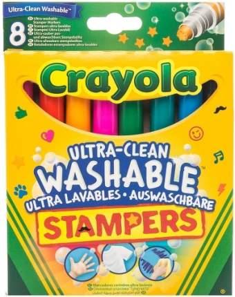 Набор мини-штампов Crayola Супер чисто 8 шт