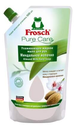 Жидкое мыло Frosch Миндальное молочко ухаживающее 500 мл (запасная упаковка)