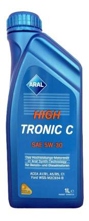 Моторное масло Aral HighTronic C 5W-30 1л