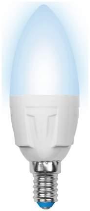 Лампа светодиодная (UL-00000767) E14 7W 4500K свеча матовая LED-C37-7W/NW/E14/FR PLP01WH