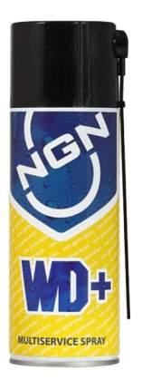 Специальная смазка для автомобиля NGN Многофункциональная Multiservice Spray WD+ 0.4л