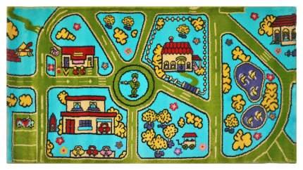 Ковер детский Kamalak tekstil голубой 80х150 УКД-2059