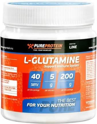 Глютамин PureProtein 200 г лесные ягоды
