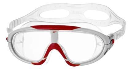 Очки-полумаска для плавания Speedo Rift 8-70329 красные/белые/прозрачные (7239)