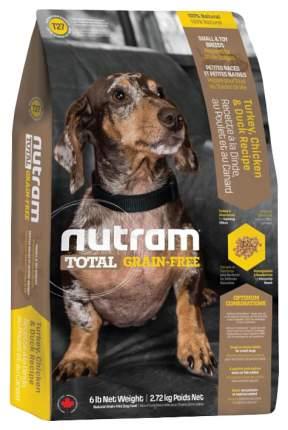 Сухой корм для собак Nutram Total Grain Free Small&Toy, индейка, курица, утка, 2,72кг
