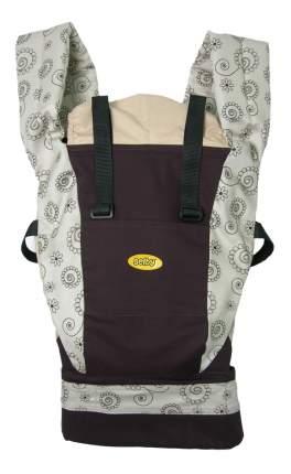 Рюкзак для переноски детей Тополь Selby Freedom шоколад/бежевый