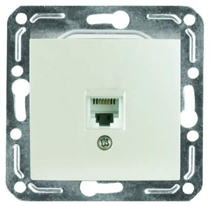 Розетка компьютерная одноместная Volsten V01-18-C11-M