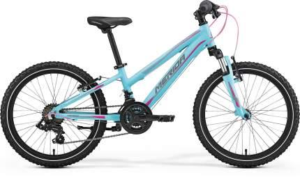 Велосипед Merida Matts J.20 2017 onesize Matts J.20 blue/pink/grey