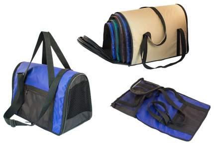 Сумка-переноска Дарэлл 22x39x22см фиолетовый, черный