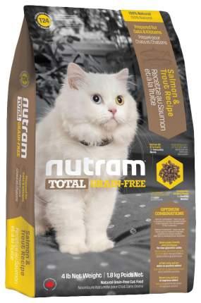 Сухой корм для кошек и котят Nutram TOTAL Grain Free, лосось, рыба, 6,8кг