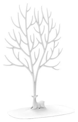 Декоративный органайзер для украшений Qualy QL10172-WH Deer большой Белый
