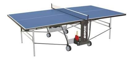 Теннисный стол Donic Indoor Roller 800 синий, с сеткой