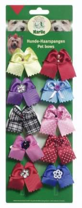 Заколки для домашнего питомца Karlie декоративная, разноцветные 10 шт