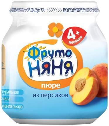 Пюре фруктовое ФрутоНяня из персиков 4 мес. 110 г