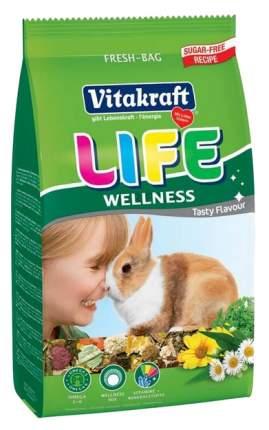 Корм для кроликов Vitakraft Life Wellness 0.6 кг 1 шт