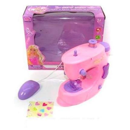 Детская швейная машинка розовая Shantou Gepai 8050