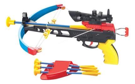 Луки и арбалеты игрушечные 1TOY Арбалет с ик прицелом и аксессуарами