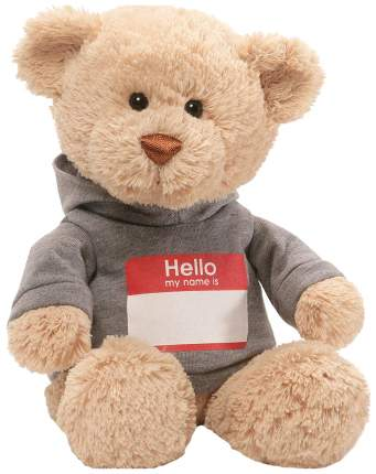 Мягкая игрушка Gund Hello My Name Is Bear 30,5 см