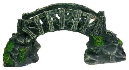 Грот для аквариума TRIXIE Ornament Bridge Мост, полиэфирная смола, 6,5х12,5х8,5 см