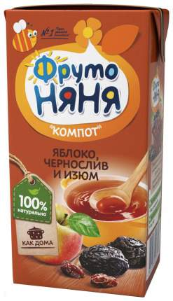Компот ФрутоНяня Яблоко, чернослив и изюм с 6 месяцев 200 мл