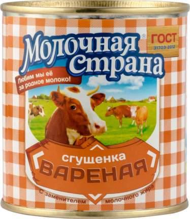 Сгущенка вареная Молочная страна 8.5% 380 г