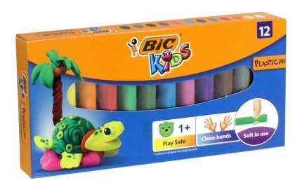 Пластилин BIC Kids, 12 цветов