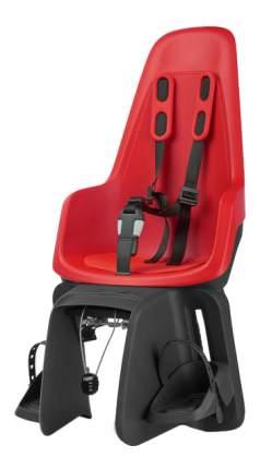 Велокресло BOBIKE One Maxi с креплением на багажник strawberry red