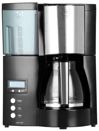 Кофеварка капельного типа Melitta Optima Timer Black/Silver