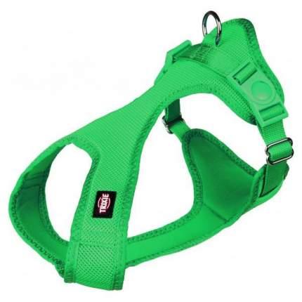 Шлейка для собак Trixie Soft M, зеленый