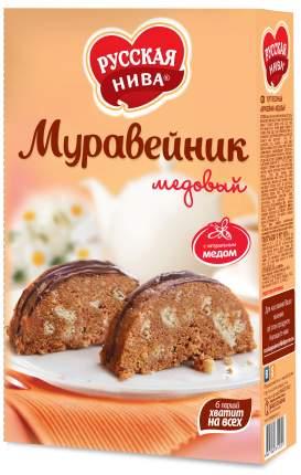 Торт песочный Русская Нива муравейник медовый 340 г