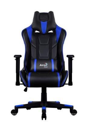Игровое кресло AeroCool AC220 AIR, синий/черный