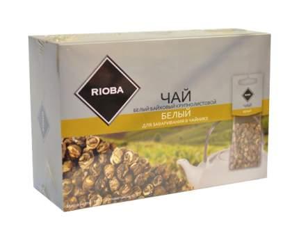 Чай белый Rioba байховый крупнолистовой 20 пакетиков