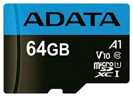 Карта памяти ADATA Micro SDHC Premier 64GB