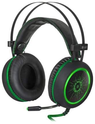 Игровые наушники Defender DeadFire G-530D Black/Green