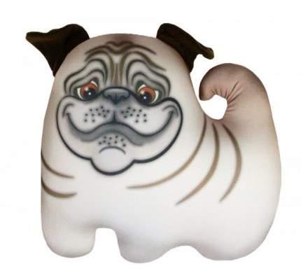 Игрушка-антистресс СПИ Собака Мопсик бежевая