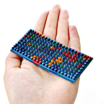 Массажер акупунктурный Аппликатор Ляпко Малыш, шагиглы 3,5 мм, 3,5 x 8 см