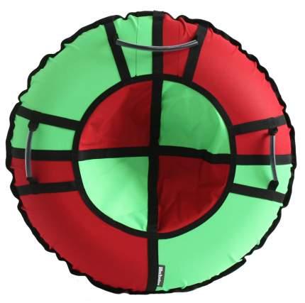 Тюбинг Hubster Хайп красный-салатовый 110 см