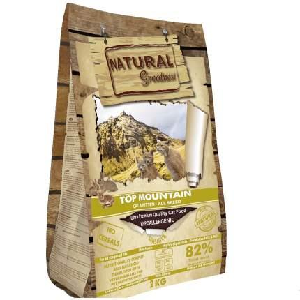 Сухой корм для кошек Natural Greatness Top Mountain, кролик, 2 кг