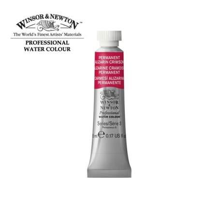 Акварель Winsor&Newton Artists Watercolour малиновый алазарин перманентный 5 мл