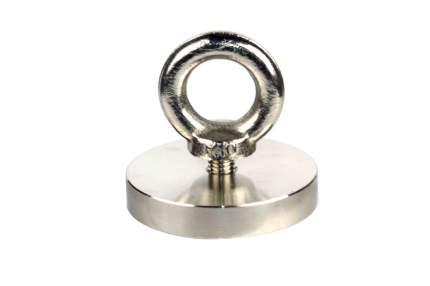 Поисковый магнит односторонний Forceberg F120, сила сц. 140 кг