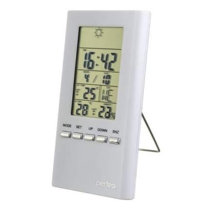 Электронные часы-метеостанция Perfeo Meteo PF-S3331F White
