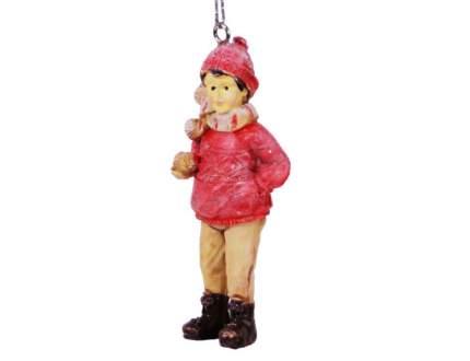 Елочная игрушка Hogewoning 4х2х9 см 1 шт 400249-061
