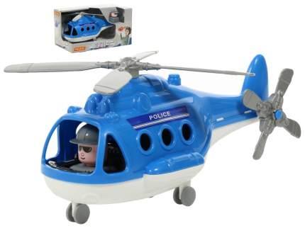 """Вертолёт - полиция """"Альфа"""" (в коробке) 29х16,5х15,5 см П-68675 Полесье"""