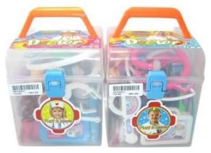 Набор игровой. Доктор, 23 предмета, пластмасса, в чемодане, 28х19,5х36,5см